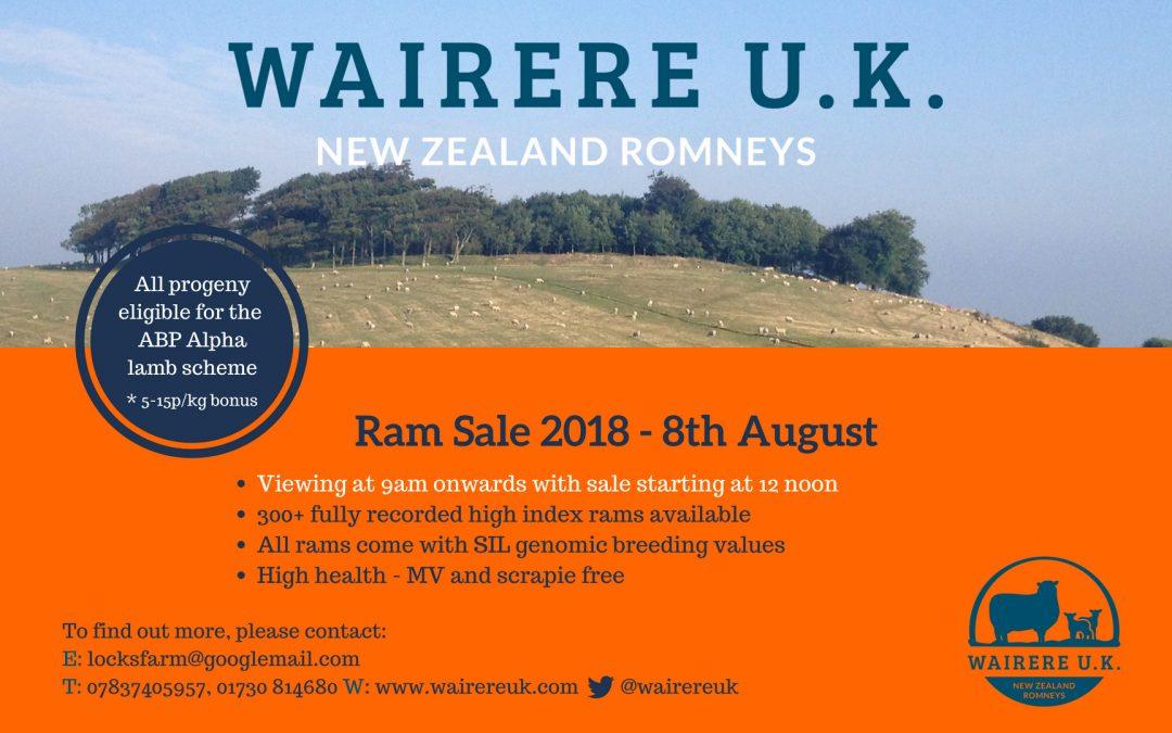 Ram Sale 2018